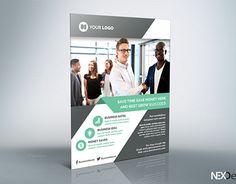 Hospital Flyer  V By Nexdesign On Creativemarket  Flyers
