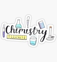 Chemie Sticker Homemade Stickers, Diy Stickers, Printable Stickers, Laptop Stickers, Chemistry Drawing, Chemistry Art, Chemistry Tattoo, Chemistry Projects, Chemistry Revision