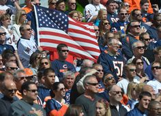 God Bless America and the Chicago Bears!