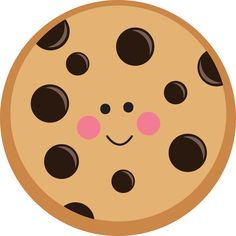 free chocolate chip cookie clipart clipart pinterest chip rh pinterest com bitten chocolate chip cookie clipart chocolate chip cookie day clipart