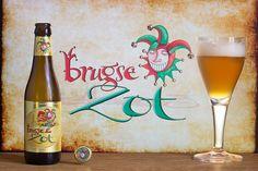"""Brugse Zot Blonde (Brouwerij De Halve Maan - Bruges - Belgique) -  grâce à """"Une petite mousse"""""""