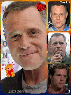 Born: 12th March 1960 - Jason Beghe plays Sergeant Hank Voight Head of the Chicago Police Department's Intelligence Unit in Chicago PD....Kindly done by Julie Felton1. Please visit her boards they are **FANTASTIC**
