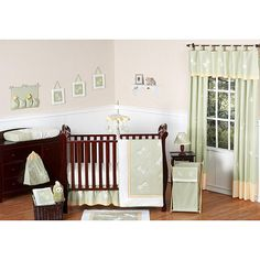 Sweet Jojo Designs Green Dragonfly Dreams Collection 11-Piece Crib Bedding Set | BabiesRUs
