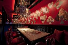 Alice in Wonderland Restaurant in Tokyo! I must go... - Remember this place ☛ matchbookit.com/?4