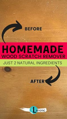 Just two ingredients to make your old wood pieces looking good again! Vinegar and olive oil can do wonders for your home furniture. A homemade wood sc. Homemade Goo Gone, Weed Killer Homemade, Homemade Jewelry Cleaner, Cleaners Homemade, Diy Cleaners, Bathroom Cleaning Hacks, House Cleaning Tips, Homemade Cleaning Products, Natural Cleaning Products
