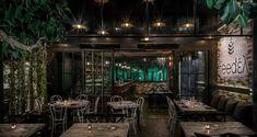 Feedέλ: Σ' αυτό το εστιατόριο θα φας από τα χέρια του MasterChef, Λεωνίδα Κουτσόπουλου Greek Restaurants, Cafe Bar, Athens, Greece, Places To Go, Urban, Table Decorations, Modern, Furniture