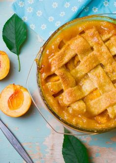A homemade and healthy vegan pie that brings out the comforting flavor of sweet peaches, and there is a secret ingredient in the dough... vodka!