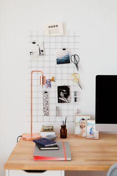 DIY Wand-Organizer für mehr Ordnung am Schreibtisch