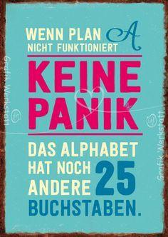 Keine Paniik - Notizhefte - Grafik Werkstatt Bielefeld