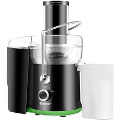 Electric Juicer Wide Mouth Fruit & Vegetable Centrifugal Juice Extractor 2 Speed for sale online Fruit And Vegetable Juicer, Citrus Juicer, Juicer For Sale, Best Juicer Machine, Centrifugal Juicer, Electric Juicer, Body Detoxification, Electric House, Juice Extractor