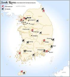 South Korea Airports