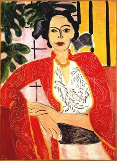 colin-vian:    Henri Matisse - The Amber Necklace, 1937. Oil on canvas, 62 x 45.5 cm. Private Collection