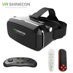 Online shopping for Virtual Reality with free worldwide shipping Virtual Reality Education, Virtual Reality Glasses, Smartphone, Cardboard Vr Headset, Google Vr Cardboard, Vr Shinecon, Front Cover Designs, Vr Box, 3d Glasses