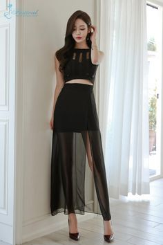 Korean Fashion Dress, Ulzzang Fashion, Skirt Fashion, Fashion Dresses, Cute Skirt Outfits, Classy Outfits, Pretty Outfits, Beautiful Dresses, Nice Dresses