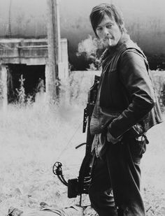 mywritingalias: The Walking Dead's beautiful bad ass, Daryl Dixon.
