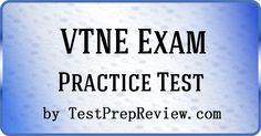 Free VTNE Practice Test offered by TestPrepReview.  VTNE test study aid for veterinary technician students.  #vtne