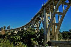 Colorado St. Bridge in Pasadena.