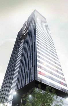 VOX Rendering for 35 storey tower.