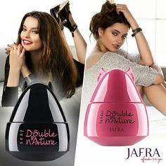 Every woman has two sides. #jafra #Ajafracosmetics - A la venta en: https://www.facebook.com/TienditadeBellezaLaguna/