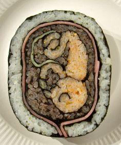 Baby ... if only I could eat sushi right now!