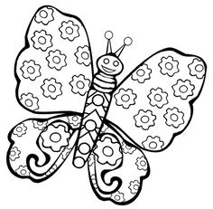 Marvelous Butterfly Coloring Pages For Kids 80 Printable Butterfly Coloring Pages