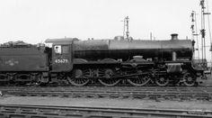 45679 Armada at Bletchley MPD on 24 April 1960 Royal Navy Submarine, Steam Railway, British Rail, Milton Keynes, Steam Engine, Steam Locomotive, New City, Birmingham, Steamers