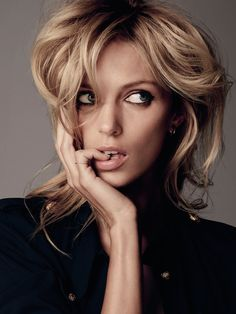 visual optimism; fashion editorials, shows, campaigns & more!: anja rubik by paul schmidt for elle croatia april 2015