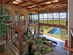 One of Kula's finest, 83 Ikena Kai Place-Maui. Listed by Wendy Peterson & Vincent Palmieri of Island Sotheby's International Realty & priced at $2,750,000, this home is boldly designed, beautifully constructed and magically set toward the top of its six acre parcel in Oma'opio Ridge. See details at www.islandsothebysrealty.com MLS #361290.