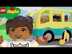 Lego Wheels, Wheels On The Bus, Twin Birthday Cakes, Kiss Emoji, Itsy Bitsy Spider, Lego Duplo, Kids Songs, Cartoon Kids, Nursery Rhymes