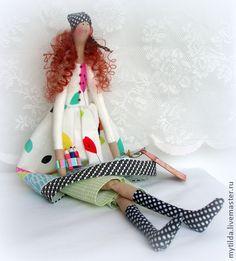 Куклы Тильды ручной работы. Ярмарка Мастеров - ручная работа Симона. Handmade.