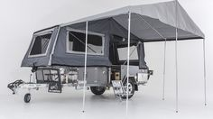Love the concept of forward folding camper trailers. A bit of luxury camping