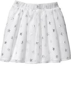 Foil-Star Tulle Skirts for Baby | Old Navy