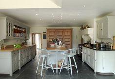 Complete freestanding Chalon kitchen by ChalonHandmade, via Flickr