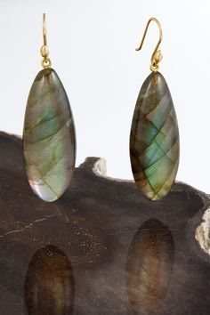 ted muehling labradorite earrings ... must have for fall.