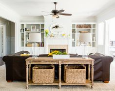The Starbuck Family Family Room Makeover