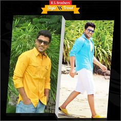 """#Style vs #Trendy #Handsome South Indian Actor #Sharwanand in complete Formals with Stylish Look & in other side with Trendy Casual Style. Which Outfit suits him best & looks Awesome? Present your interest in """"Like"""" for Casuals or """"Comment"""" for Trendy Outfits…. (Image copyrights belong to their respective owners)"""