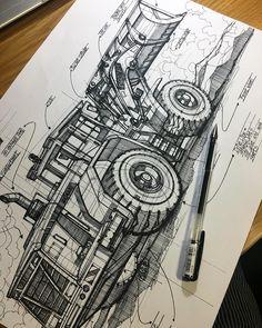 Wheel Loader Description Sketch . . . . . . . . .  #rendering#transportationdesign #vehicledesign #conceptart  #designsketch #industrialdesignsketch #sketch#instacool  #instasketch #instadesign#industrialdesign#transportationdesign #vehicledesign  #conceptart  #sketch  #instapic #sketching#sketchaday #sketchbook  #sketches #designdaily #carsketch # #transportdesign #doodleart#wip #cardesign #cardesigner#dailydrawing #dailysketch #dailysketching