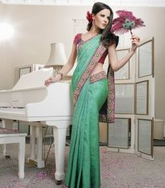 PEACOCK SILK SAREE