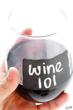 Wine 101 -- a new series explaining the basics of #wine! | gimmesomeoven.com