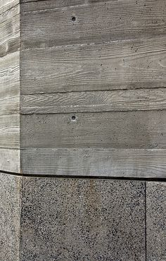 board formed concrete texture for pedestrian dock