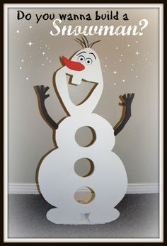 Do You want to build a snowman? This little guy is helping out with our Christmas party tomorrow!!