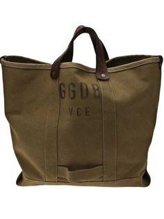 Golden Goose Deluxe Brand logo print tote