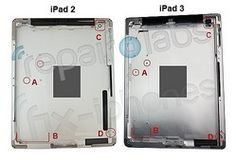 iPad 3のバッグシェルが流出  a bag of shell outflow iPad 3