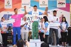 Landa de Matamoros, Qro. 28 de febrero de 2017.- El atleta Landense Carlos Loredo Hernández de 23 años originario de...