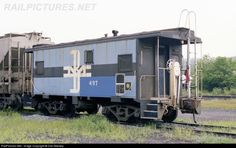RailPictures.Net Photo: BM 497 Boston & Maine Caboose at White River Junction, Vermont by Dan Mackey