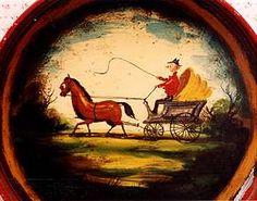 Ompir folk art painter, Peter the Great
