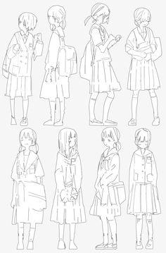 Media preview Anime Girl Drawings, Manga Drawing, Manga Art, Drawing Techniques, Drawing Tips, Drawing Reference, Drawing Sketches, Art Drawings, Pencil Art