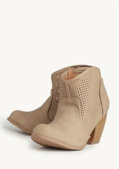 Wildflower Freedom Booties In Taupe at #Ruche @shopruche