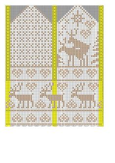 the site is in russian, but omg, reindeer humping mittens hahaha I want to make these Knitting Charts, Knitting Stitches, Knitting Socks, Baby Knitting, Knitting Patterns, Crochet Patterns, Knitted Mittens Pattern, Knit Mittens, Knitted Gloves