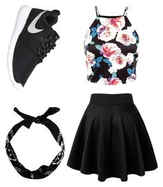 """Untitled #53"" by kailynsherman on Polyvore featuring NIKE, women's clothing, women's fashion, women, female, woman, misses and juniors"